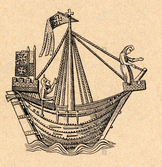 7 sailing ship of the Hanseatic League.jpg
