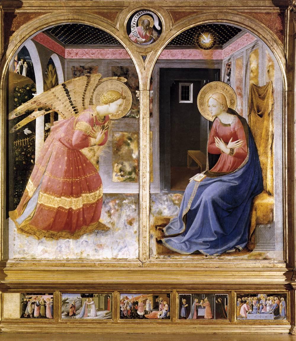 fra angelico Santa Maria delle Grazie, San Giovanni Valdarno 1430.jpg