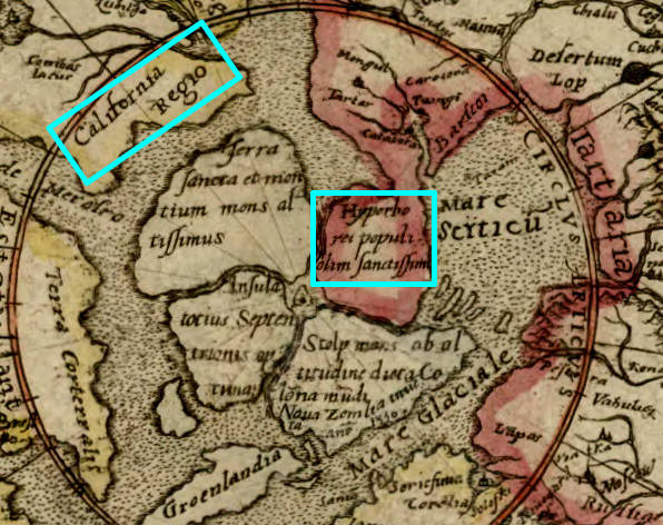 Hemisphaerium Ab Aequinoctiali c1587 Antwerp.2.27291.california-hyperborea.cropped.jpg