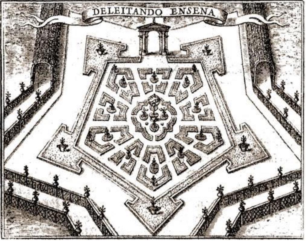 star fort garden maze Lima.jpeg