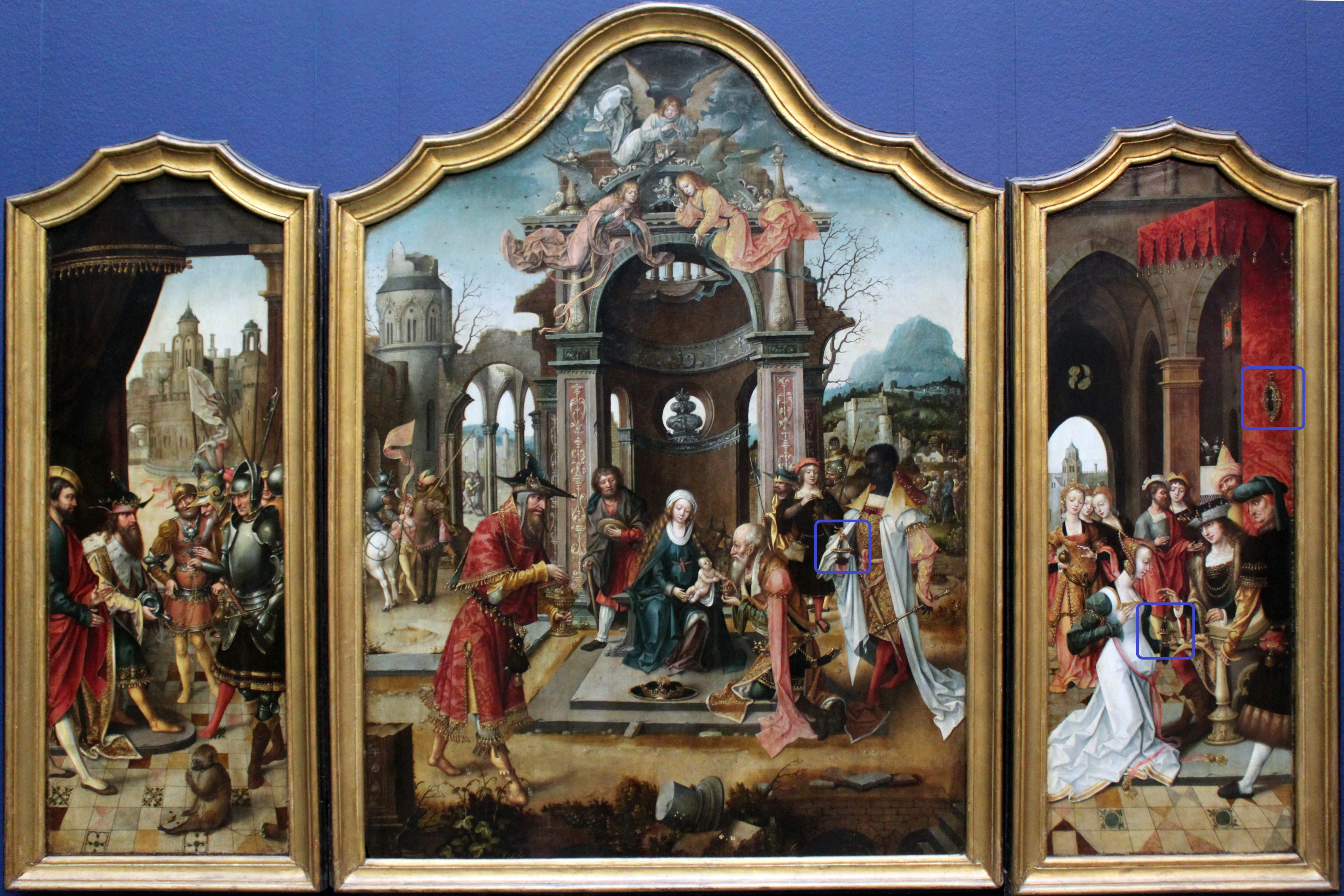 Tryptych with the Adoration of the Magi and Old Testament Scenes.jpg